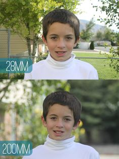 get better photos by understanding focallength