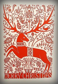 """In the ancient northern religions it was the female horned reindeer who drew the sleigh of the sun goddess at winter solstice. It was when we """"Christianized"""" the pagan traditions…"""