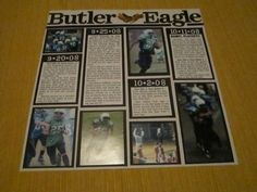 newspaper clippings page