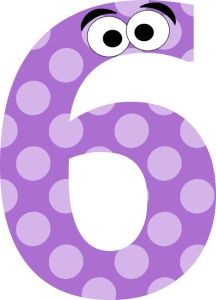polka dot classroom numbers - so cute!