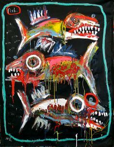 """""""Big fish in a petite pond"""", by Matt Sesow"""