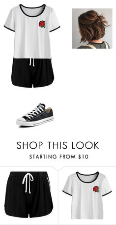 """""""Untitled #272"""" by aj-mounger on Polyvore featuring Boohoo and Converse"""