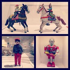 Beautiful vintage toys at a Chatham Historic Dockyard exhibition...