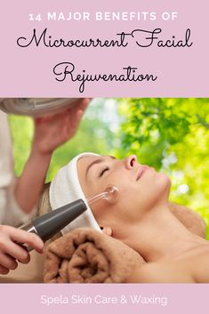 Discover the benefits of microcurrent facial technology and how this holistic, professional spa treatment can lead to clear, firmer, younger-looking, acne-free skin! spelaskincare naturalbeauty microcurrent (Benefits of Microcurrent Facial Technology Facial Benefits, High Frequency Facial, Microcurrent Facial, Facial Rejuvenation, Skin Care Spa, Skin Specialist, Facial Care, Spa Facial, Facial Treatment