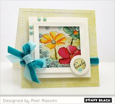Card ideas with Penny Black stickers and other products. Fun and easy!