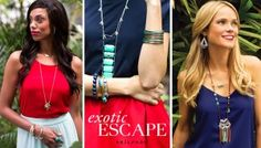 Read about this season's Exotic Escape trend and how to incorporate it into your spring style. These fun, colorful jewels are inspired by destinations like the Amazon and the tropics, which make them ideal for your beach vacations, backyard barbecues and pool parties. #SilpadaStyle