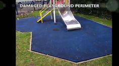 Oxford EPDM Rubber Play Area Soft Floor Renovation