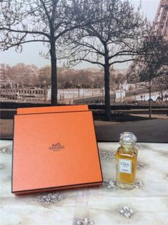 NEW-HERMES-Paris-Caleche-Pure-Perfume-Parfum-0-5-Oz-in-Box