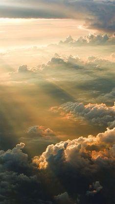 Über den Wolken.  #Landschaft #Natur #Erde
