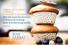 Bon Sabbat, Sabbats, Muffin, Bible Verses, Rest, Spiritual, God, Kitchens, Muffins