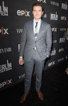 "Richard Armitage Photos Photos - Actor Richard Armitage attends EPIX ""Berlin Station"" LA premiere at Milk Studios on September 29, 2016 in Los Angeles, California. - EPIX ""Berlin Station"" LA Premiere"