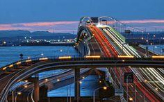 Tokyo Wan Aqua-Line Architect: ?? Location: Tokyo Bay (东京湾) Year built: 1966-1997