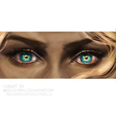 So I decided to continue in eyes drawing study and made Celeana/Aelin's eyes. Cause they're so interesting. Hope you like it …