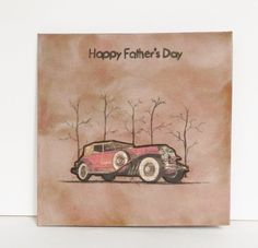 Hand made Father's Day greeting card with by MyHighStreetBoutique