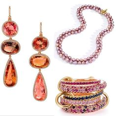 "Feel the love. Every design in the ""6 VDay Gifts for Every Style"" story gave me the swoons. Consider it a dazzling dose of gift inspo...plus a mood lift. #jewelry #robbreport #valentines #pink #pearls #jewelrytrends #rocksrock  From Robb Report associate editor @carolyn.meers.  via ROBB REPORT MAGAZINE OFFICIAL INSTAGRAM - Luxury  Lifestyle  Style  Travel  Tech  Gadgets  Jewelry  Cars  Aviation  Entertainment  Boating  Yachts"