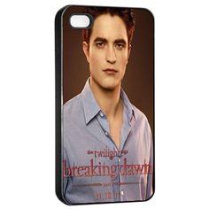 Robert Pattinson Twilight Breaking Dawn Edward Cullen iPhone 4 4s Case ahhh want this sooooo bad