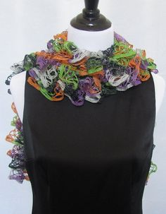 Check out this item in my Etsy shop https://www.etsy.com/listing/201851216/halloween-black-orange-purple-silver-and