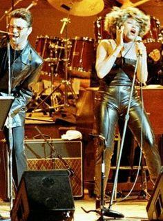 Tina Turner and George Michael