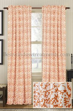 Rust Curtains And Curtain Panels On Pinterest