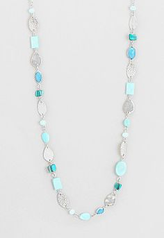 Aubrey Long Single Strand Necklace, 9-0036390824, Long Single Strand Necklace Main View PGP