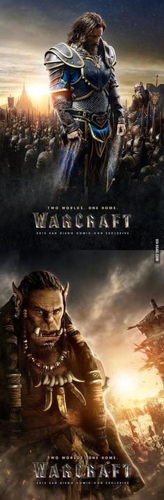 Two Official 'Warcraft' Movie Posters | DailyFailCenter