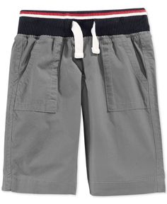 Tommy Hilfiger Little Boys' Mickey Rib Shorts