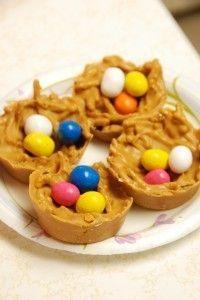Peanut Butter Nests