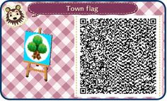 QR code for zen sand path in Animal Crossing New Leaf Qr