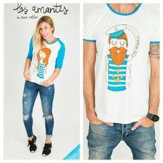 Los AMANTES de AIRE RETRO. www.aireretro.es  #aireretro #amantes #camiseta #tshirt