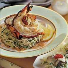 Grilled Lobster with Creamy Chili Vinaigrette