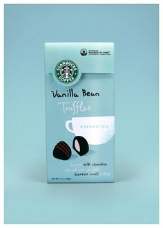 starbucks truffle packaging by hatch design
