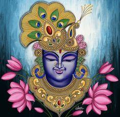 Pichwai Paintings, African Art Paintings, Modern Art Paintings, Hanging Paintings, Kerala Mural Painting, Madhubani Painting, Fabric Painting, Glass Painting Patterns, Ganesha Painting