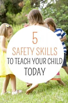 DON'T BECOME A STATISTIC 5 SAFETY SKILLS TO TEACH YOUR CHILD TODAY