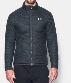 Men's ColdGear® Reactor Jacket, STEALTH GRAY, Front