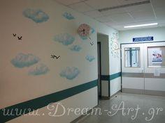 Τοιχογραφία στο 'ΑΤΤΙΚΟ' Νοσοκομείο