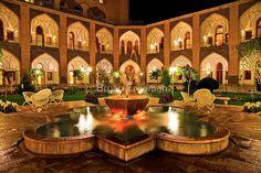 The Amazing Abbasi Hotel - Isfahan - Iran #irantravelingcenter