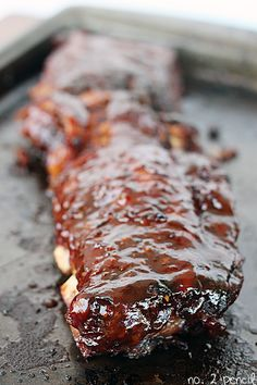 Is your dad nuts for delicious BBQ? Here's the perfect Slow Cooker BBQ Ribs recipe. Make Father's Day a hit with this recipe!