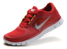 Femme Nike Free Run 3 Gym Rouge Coral Rouge/Rosa Neon Blanche Reflect Argent Volt Nike Shoes For Sale, Nike Shoes Cheap, Nike Free Shoes, Running Shoes Nike, Cheap Nike, Nike Free Run 2, Red Sneakers, Sneakers Nike, Cheap Sneakers
