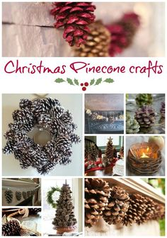 Christmas Pinecone Crafts