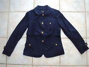 Talbots navy cotton jacket