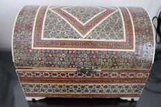 Old Persian Jewelry Box