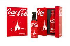 Coffret premium Coca Cola Disneyland Paris #soda #boisson #gastronomie #packaging