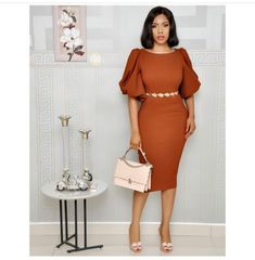90 African Office outfits to try on - Ankara Lovers African Print Dresses, African Print Fashion, African Fashion Dresses, African Dress, Elegant Dresses, Casual Dresses, Dresses For Work, Classy Dress, Classy Outfits