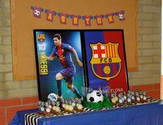 Ashton's 7th Birthday! Soccer Messi Barcelona Messi Birthday, Soccer Birthday Parties, Sports Theme Birthday, Soccer Theme, 7th Birthday, Birthday Party Themes, Birthday Ideas, Barcelona Soccer Party, Bridal Gift Wrapping Ideas