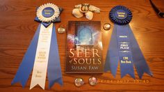 Seer of Souls is the proud recipient of the Chanticleer Review's Grand Prize ribbon for the Dante Rossetti category- Best Young Adult book of 2016. Come share in the celebration! smarturl.it/dgq6yo @chantireviews Books 2016, Banquet, Conference, My Books, Celebration, Awards, Ribbon, Tape, Treadmills