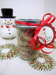 Christmas Spiced Tea Mix as gifts
