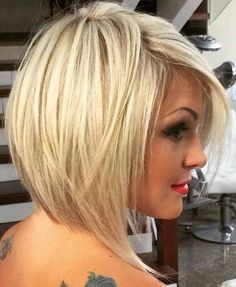 Looking for stacked bob hairstyles? Find stacked bob hairstyles pictures for graduated, fine hair, long hair, and layered hairstyles. Pick yours! Stacked Bob Hairstyles, Long Bob Hairstyles, Hairstyles 2016, Hairstyle Short, Hairstyle Ideas, Trendy Hairstyles, Hairstyles Pictures, Medium Blonde Hairstyles, Party Hairstyle