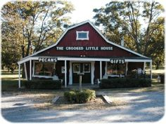 While you're in Mayes County, don't forget to stop by the Crooked Little House Pecan Orchards Inc. in Adair. This 50 acre pecan orchard and gift shop sells a wide variety of Oklahoma products including candy, pecans, fudge, jams, soups, candles and much more. Share your own Oklahoma county photos and fun facts with us using the hash tag #77OK.
