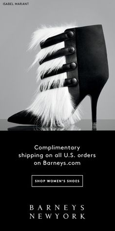 BARNEY'S NEW YORK banner ad