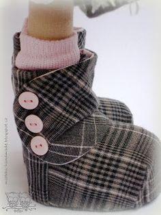 nice boots #dressadoll #dolls #dollsshoes